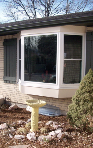 Colorado Springs Midtown Bay Window Exterior